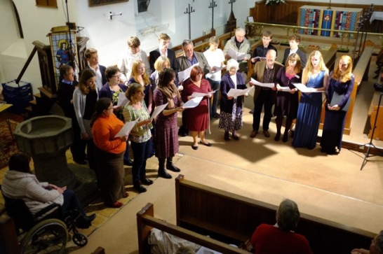 Community Singers at St Huberts