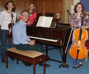Peter will be performing with the Forchester Piano Quartet
