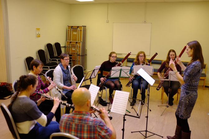Double reed day: In Pictures