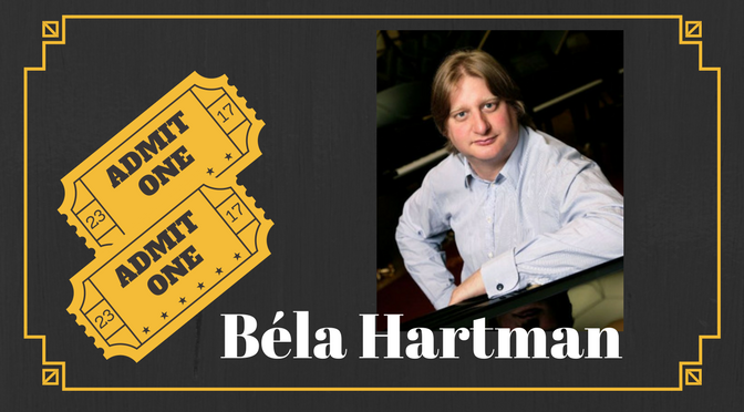 11th March 2018 – Béla Hartmann – Piano Recital