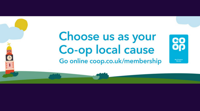 Buy a little, help us a lot with the Co-op