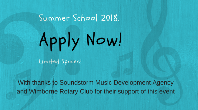 Summer School 2018 – Apply Now!