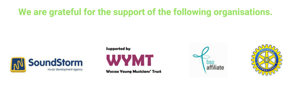 We are grateful for the support of the following organisations