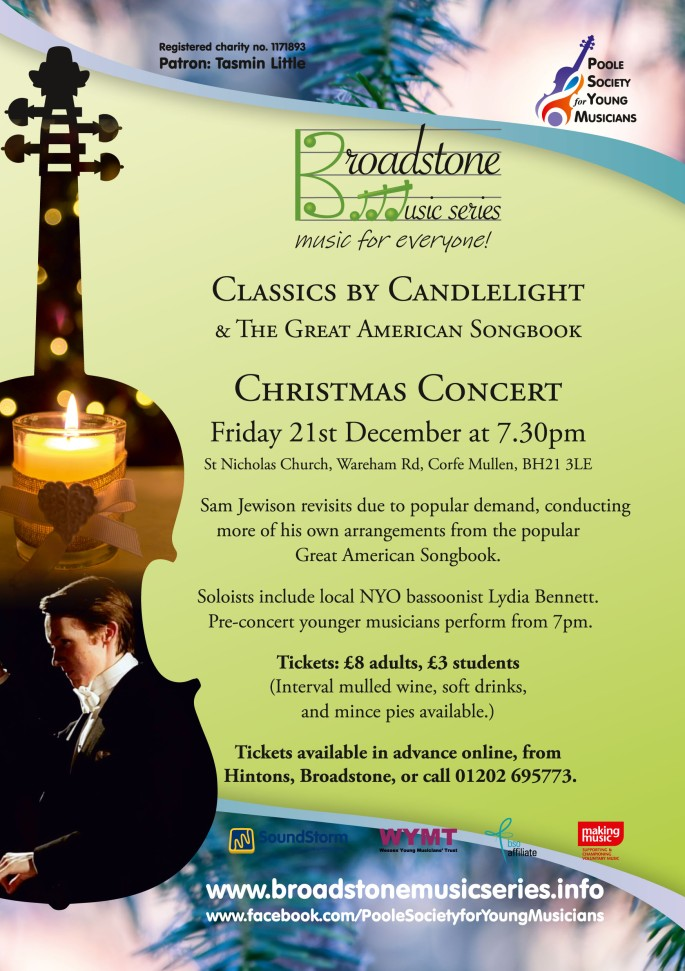 Sma Jewison and Classics by Candlelight_2018_Poster