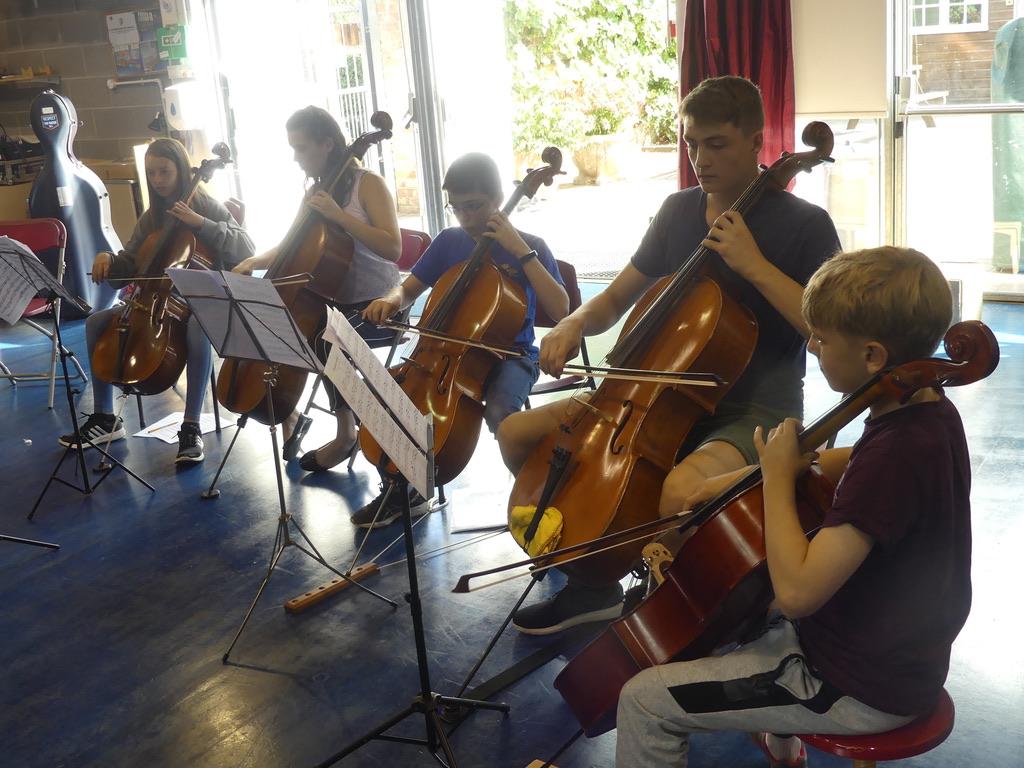Summer School Cello Ensemble