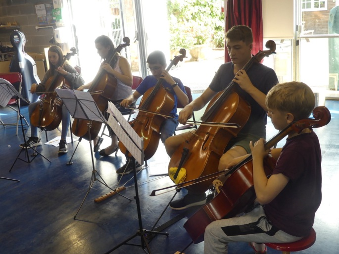 Summer School Cello Ensemble
