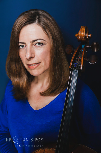 Joely Koos with Cello